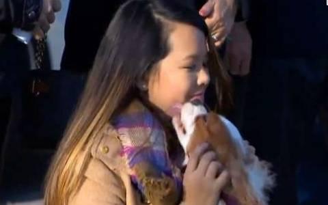 Έμπολα: Η Αμερικανίδα νοσοκόμα έσμιξε ξανά με το σκύλο της
