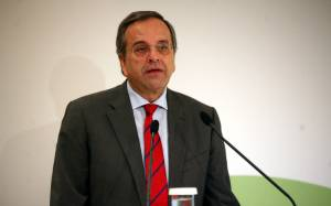Σαμαράς: Η Ελλάδα αρχίζει πια να στέκεται στα πόδια της