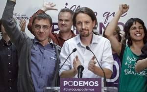 Πρώτο κόμμα στην Ισπανία το αριστερό Podemos