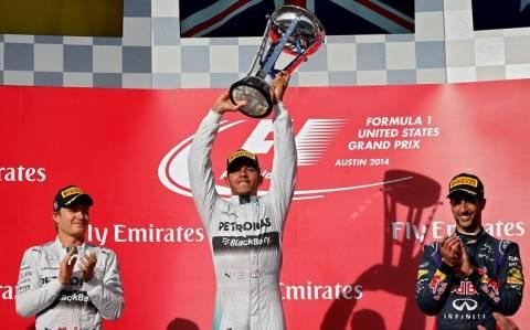 F1 Grand Prix ΗΠΑ: Ο Hamilton... τράβηξε πρώτος