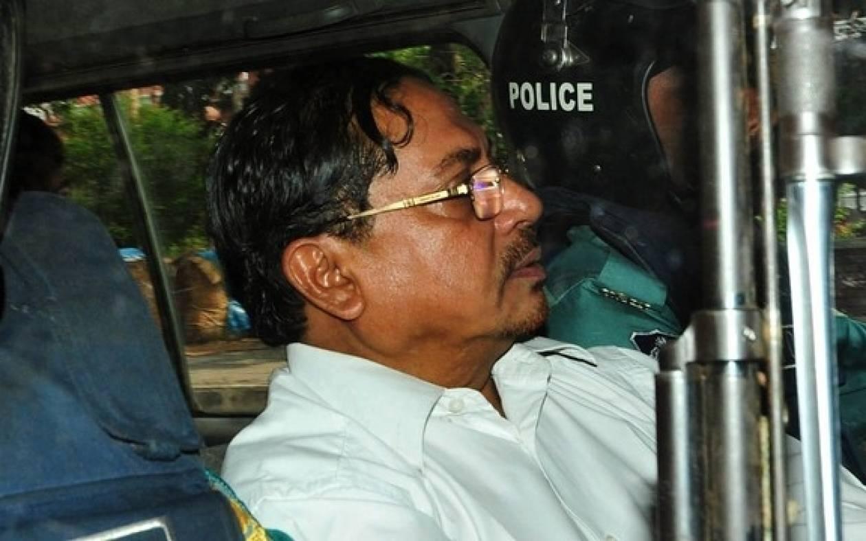Μπαγκλαντές: Επικυρώθηκε η θανατική ποινή για ισλαμιστή ηγέτη