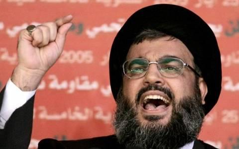 Σπάνια δημόσια εμφάνιση του ηγέτη της Χεζμπολάχ