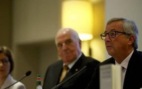 Διαφωνεί ο Γιούνκερ με τον Κολ για την ένταξη της Ελλάδας στο ευρώ