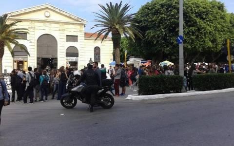 Οι μαθητές βγήκαν στους δρόμους των Χανίων