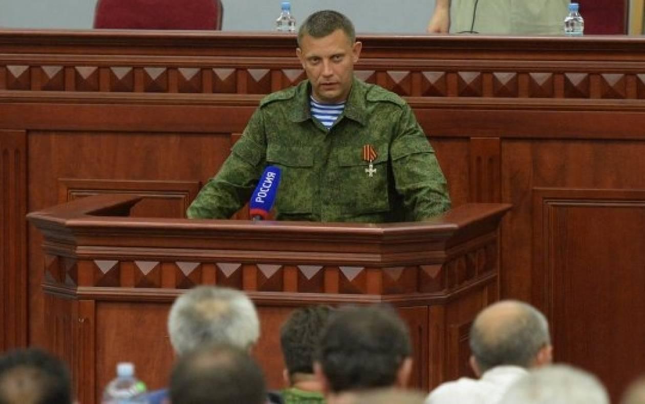 Ουκρανία: Ανέλαβε την προεδρία ο ηγέτης των αυτονομιστών