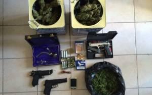 Δύο συλλήψεις στο Μοναστηράκι Βόνιτσας για όπλα και ναρκωτικά