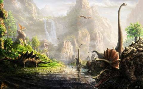 Οι δεινόσαυροι έρχονται στο... Ίδρυμα Ευγενίδου