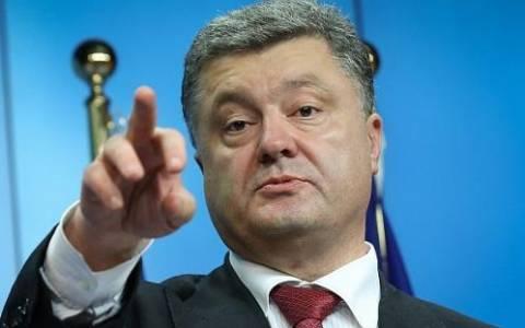 Ο Ποροσένκο φοβάται έφοδο των αυτονομιστών στην αν. Ουκρανία