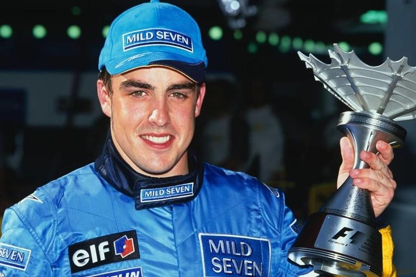 Έμεινε στην Renault (Benetton) από το 2003 ως το 2006