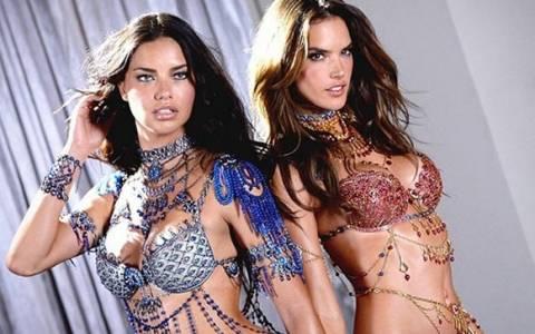 Αμπρόσιο και Λίμα κολάζουν φορώντας το σουτιέν του 1,5 εκατ. ευρώ (video)
