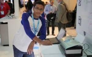 13χρονος ο εφευρέτης που κατασκευάζει φθηνό εκτυπωτή Μπράιγ