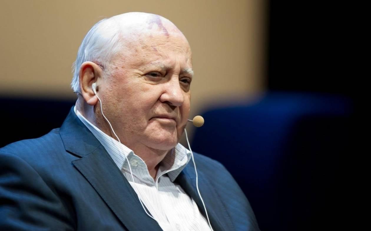 Στήριξη Γκορμπατσόφ σε Πούτιν για την Ουκρανία