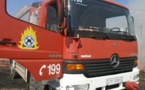 Πυρκαγιά σε συνεργείο αυτοκινήτων στη Μηχανιώνα