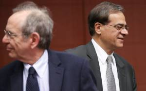 H έξοδος από το μνημόνιο στο τραπέζι του Eurogroup