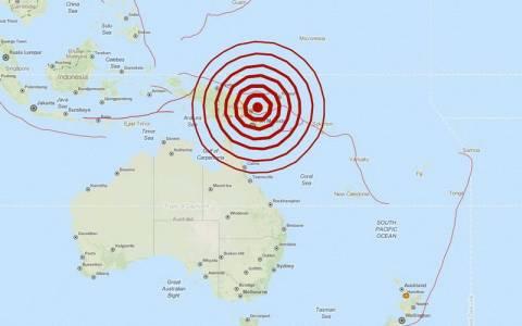 Ισχυρός σεισμός 6,9 Ρίχτερ στην Παπούα Νέα Γουινέα