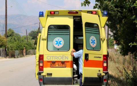 Νεκρός ηλικιωμένος βοσκός που παρασύρθηκε από φορτηγό