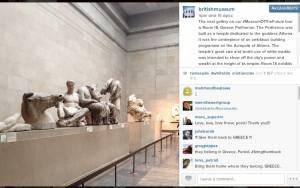 Γλυπτά Παρθενώνα: Χαμός στο Instagram με τη νέα πρόκληση