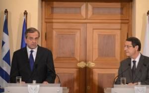 Αναστασιάδης: Επαναβεβαιώθηκε ο στρατηγικός στόχος