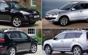 Ανακλήσεις αυτοκινήτων: CITROEN C-CROSSER και PEUGEOT 4007