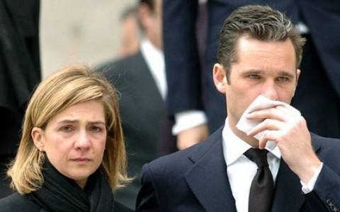 Ισπανία: Λιγότερες κατηγορίες για την πριγκίπισσα Κριστίνα