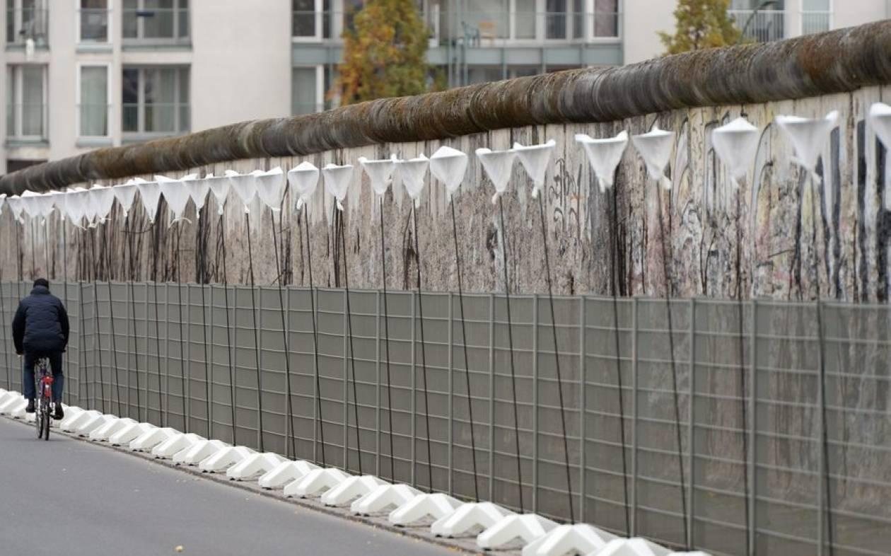 Πέφτει το Τείχος του Βερολίνου μετά από 28 χρόνια