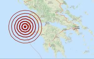 Σεισμός 5,1 Ρίχτερ στην Κεφαλονιά