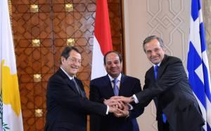 Συνάντηση των υπουργών Ενέργειας Ελλάδας, Κύπρου, Αιγύπτου