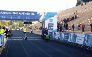Μαραθώνιος 2014: Νακόπουλος και Θεοδωροπούλου στα 5 χλμ.