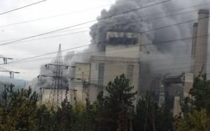 Μεγάλη φωτιά στον ΑΗΣ Πτολεμαΐδας-Στο νοσοκομείο 2 άτομα