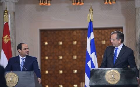 Η ατζέντα της συνάντησης Σαμαρά - Ελ Σίσι