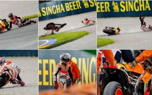 MotoGP Βαλένθια: Οι πτώσεις του Marquez