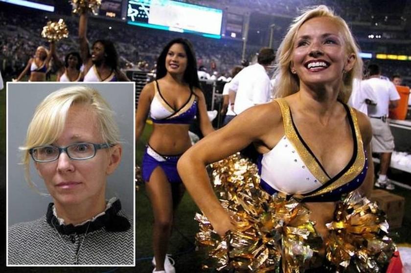 Διάσημη πρώην cheerleader βίασε τον φίλο του γιου της!