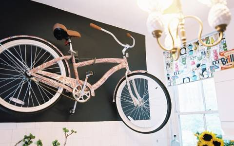 Πως να διακοσμήσεις το χώρο σου με το παλιό σου ποδήλατο