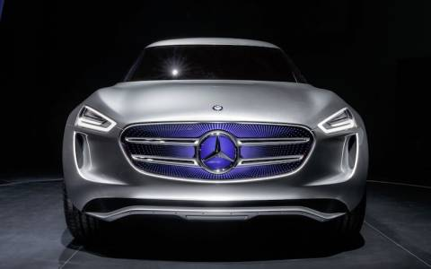Mercedes: Vision G-Code