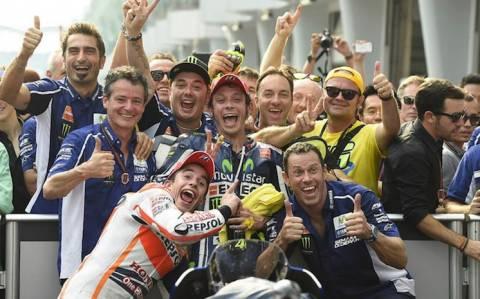 V. Rossi: Είμαι άτυχος που συνάντησα τον Marc Marquez