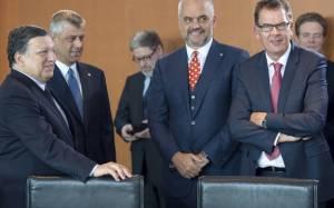 Ιστορική επίσκεψη του Αλβανού πρωθυπουργού στο Βελιγράδι