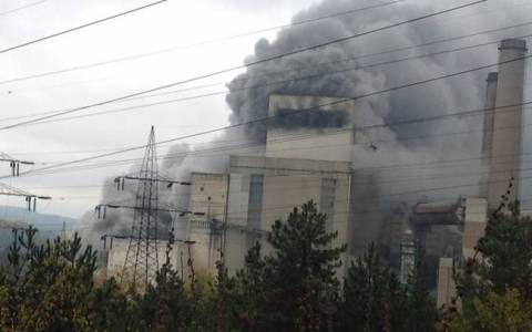 Последствия пожара на теплоэлектростанции