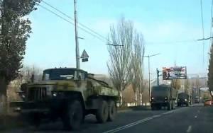 Στρατιωτικές ενισχύσεις βαρέων όπλων στο Ντονέτσκ