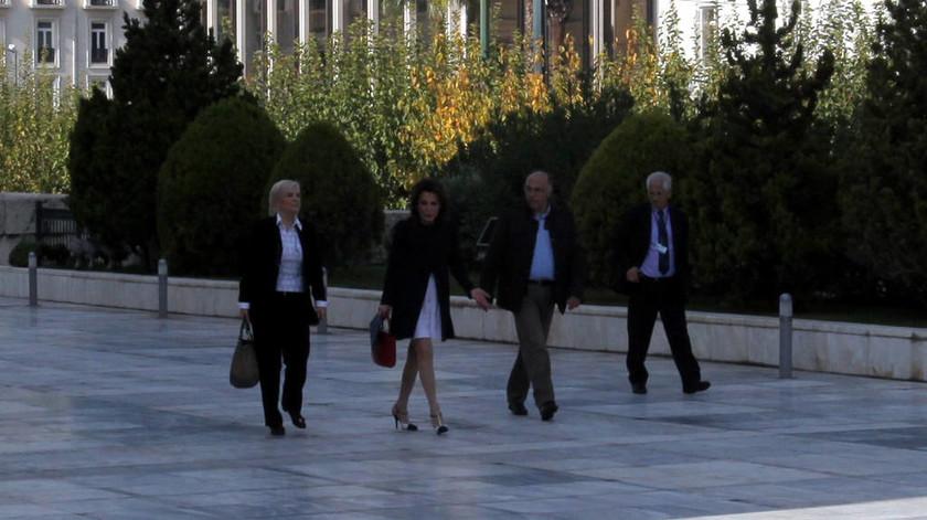 Ολοκληρώθηκε η συνάντηση Τσίπρα - Αγγελοπούλου (pics)