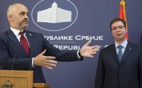 Ένταση στη συνέντευξη Τύπου Βούτσιτς-Ράμα
