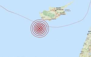 Σεισμός 4 Ρίχτερ νότια της Πάφου