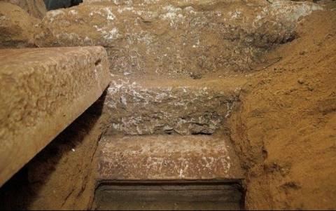 Αμφίπολη: Βρέθηκε σκάλα που οδηγεί σε υπόγειο;