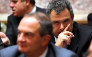 Καμμένος: Κυβέρνηση ΣΥΡΙΖΑ - ΑΝΕΛ με Πρόεδρο τον Καραμανλή