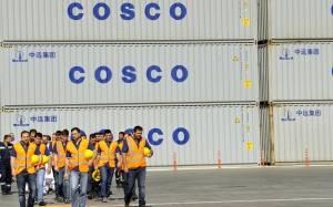«Παγώνει» επένδυση 230 εκατ. ευρώ της COSCO