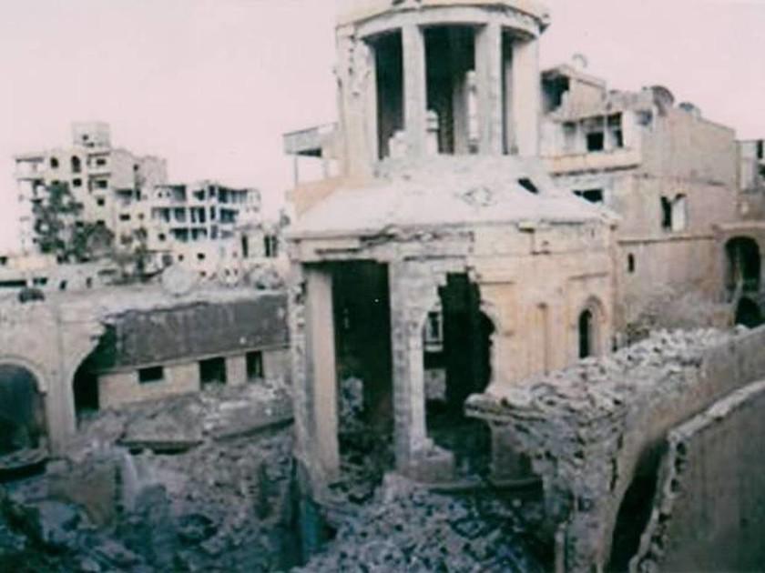 Συρία: Κατέστρεψαν ιστορική εκκλησία οι Ισλαμιστές