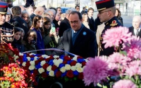 Αποδοκίμασαν τον Ολάντ σε τελετή μνήμης για τον Α΄ Παγκόσμιο