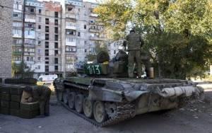 Όλμοι πλήττουν το κέντρο του Ντονέτσκ