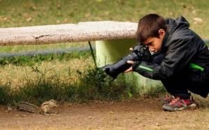 Ο βραβευμένος 9χρονος που φωτογραφίζει την άγρια ζωή!