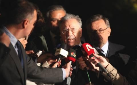 Ολοκληρώθηκε η συνάντηση Σαμαρά – Βενιζέλου με τραπεζίτες