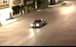 UFO (;) εξαφάνισε αυτοκίνητο στη μέση του δρόμου!